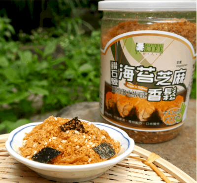 《美好人生》鑽石鹽海苔芝麻香鬆(280g/罐)