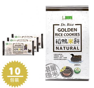 《美好人生》稻鴨米餅-黑胡椒口味10包箱購組