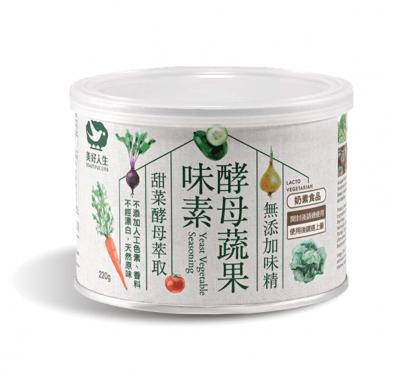 《美好人生》酵母蔬果味素(220g/罐)