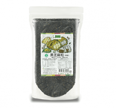 《美好人生》黑芝麻粒/已烘焙(250g/包)