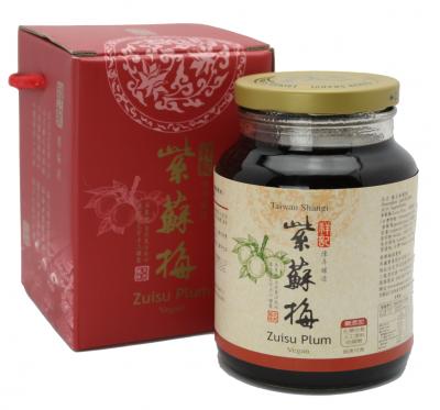《祥記》陳年釀造紫蘇梅罐裝(720g/罐)