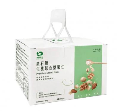 《美好人生》鑽石鹽生機綜合堅果仁小提盒(25gX8包)