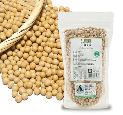 《美好人生》有機黃豆(400g/包)