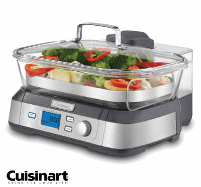 美國【Cuisinart】美膳雅美味蒸鮮鍋 (STM-1000TW)