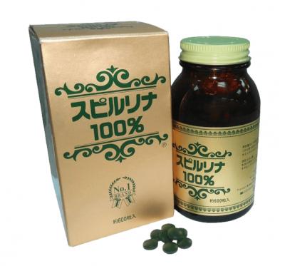 【會昌】 Japan Algae 100%螺旋藻錠(600錠/罐)