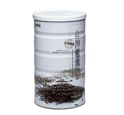 【元豪】台灣黑米粉(600g/罐)